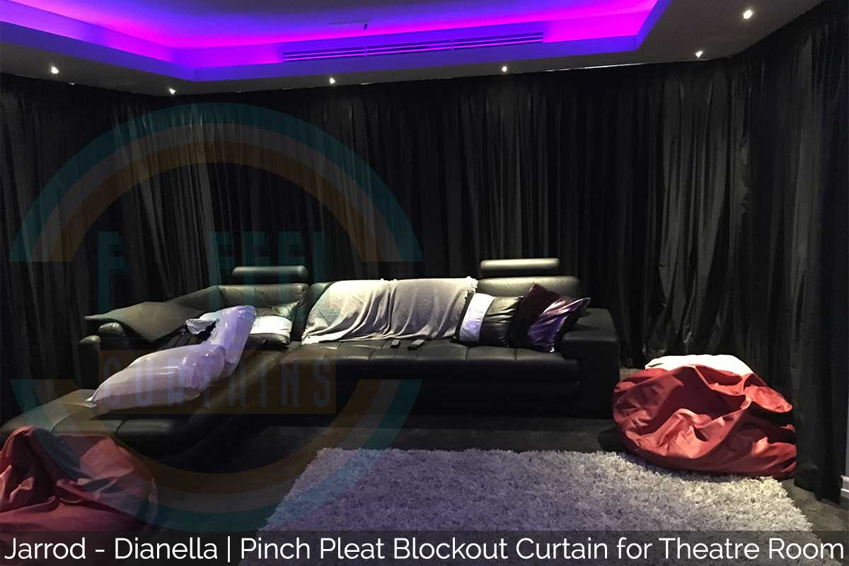 Theatre Room Blockout Curtains