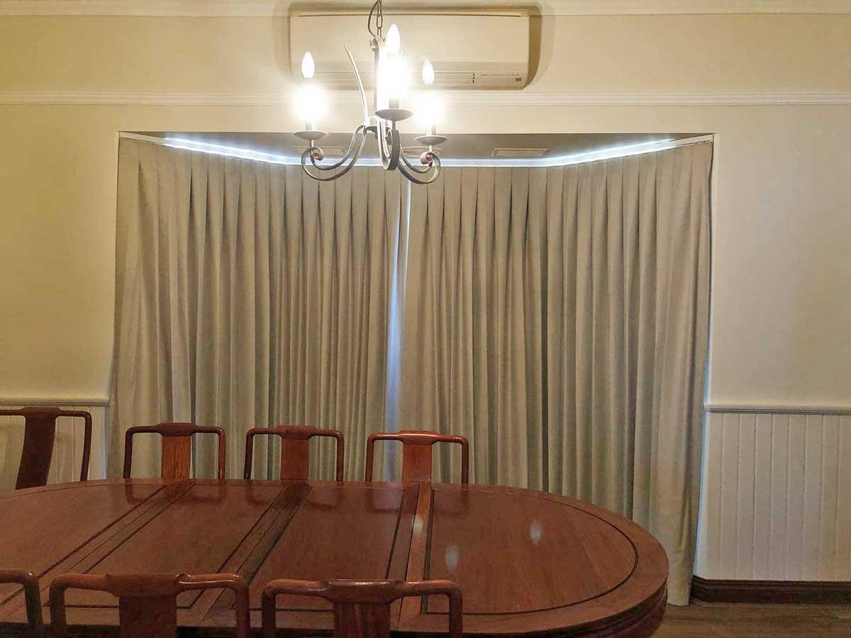 Box-Pleat-Curtains Perth