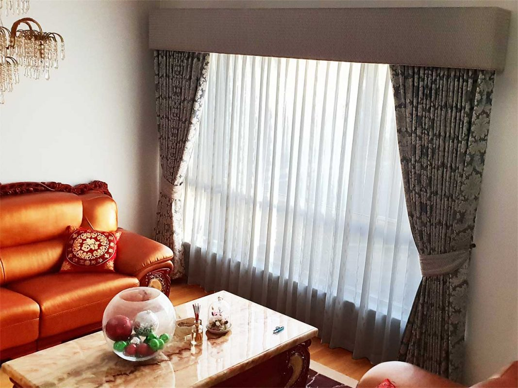 Sheer and Blockout Curtains and Pelmets in Winthrop